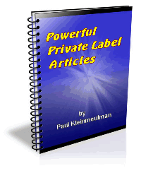 Powerful Private Label Articles